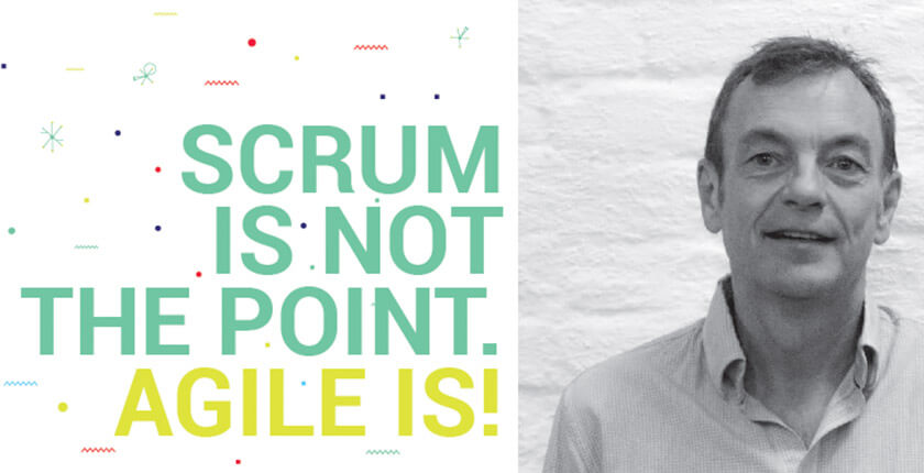 Scrum is Not the Point. Agile is!
